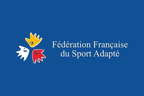 Badge Fédération Française du Sport Adapté