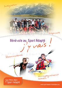 Plaquette Bénévoles Ligue du Sport Adapté Auvergne-Rhone-Alpes