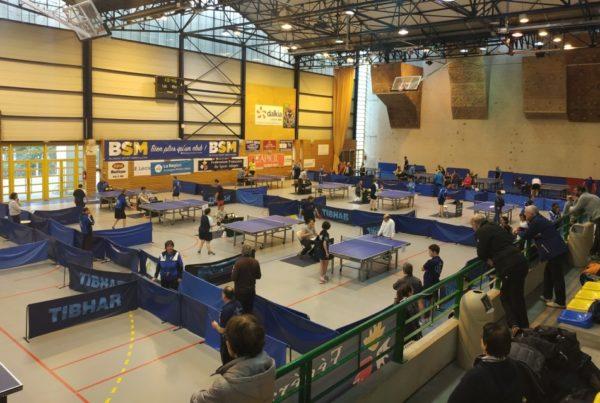 CR Tennis de Table - 3 mars 2019 - Montluçon (03)