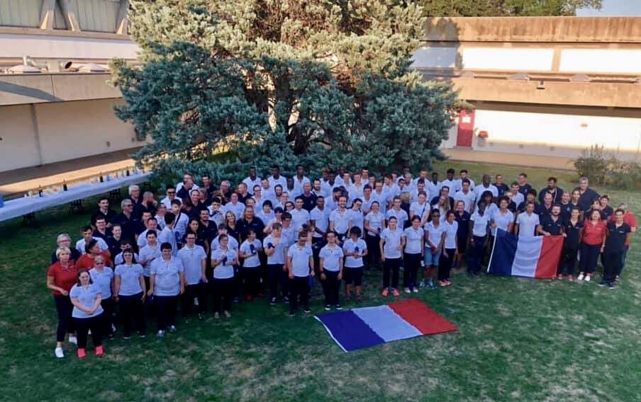 Délégation française - INAS Global Games 2019