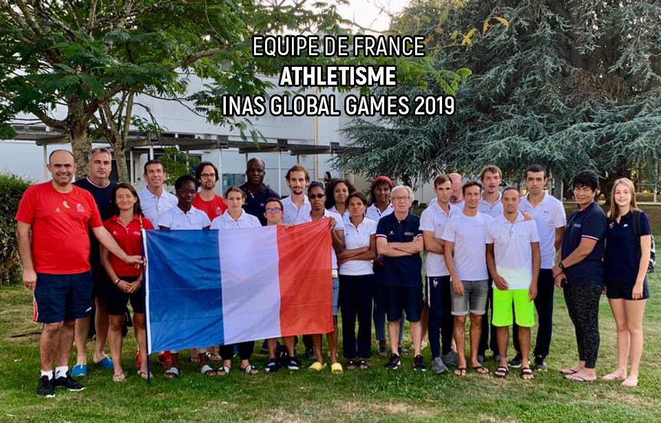 Equipe de France - Athlétisme - INAS Global Games