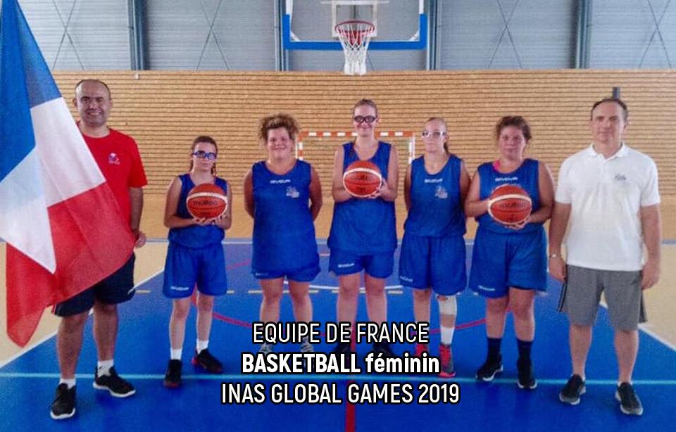 Equipe de France - Basketball - INAS Global Games