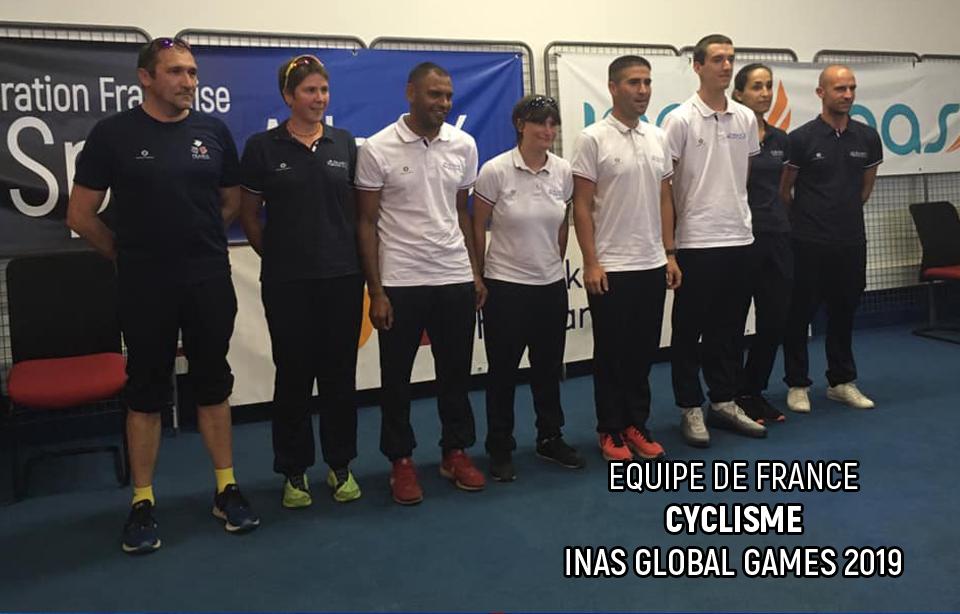 Equipe de France - Cyclisme - INAS Global Games