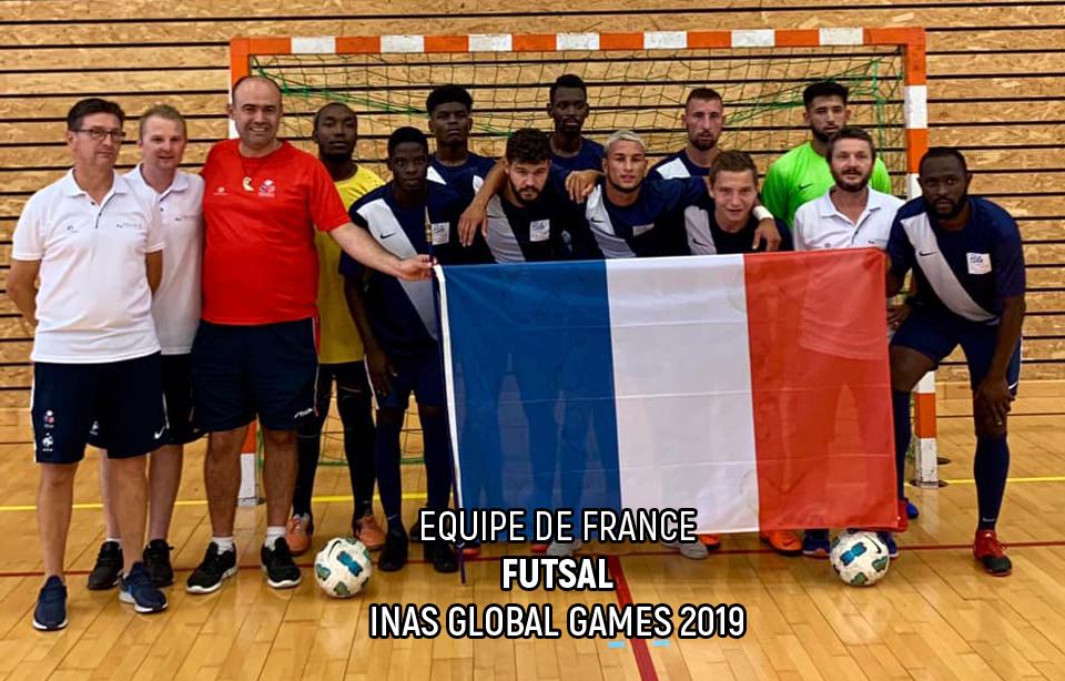 Equipe de France - Futsal - INAS Global Games