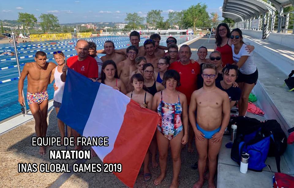 Equipe de France - Natation - INAS Global Games