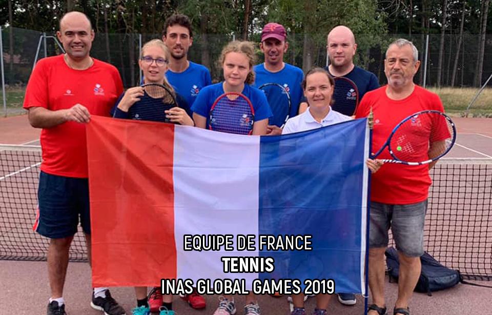 Equipe de France - Tennis - INAS Global Games
