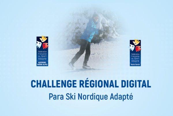 Challenge Régional Para Ski Nordique Adapté